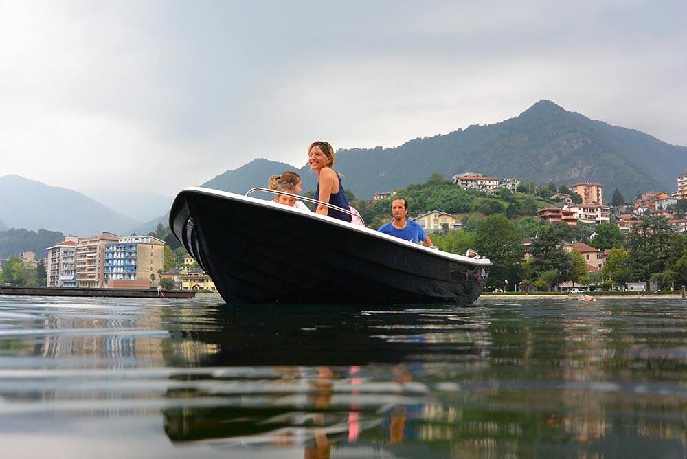 noleggio barche sul lago d'Orta