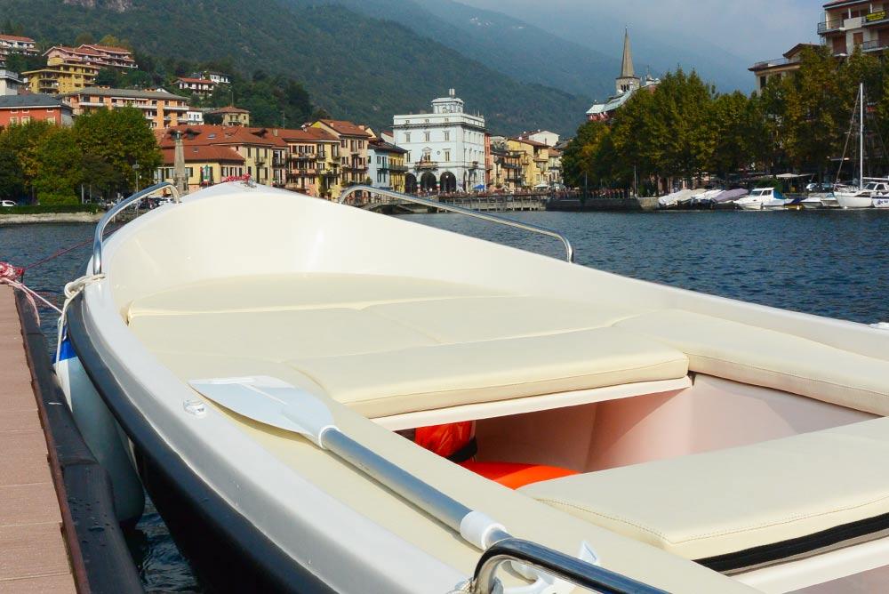 noleggio barca sul lago d'orta