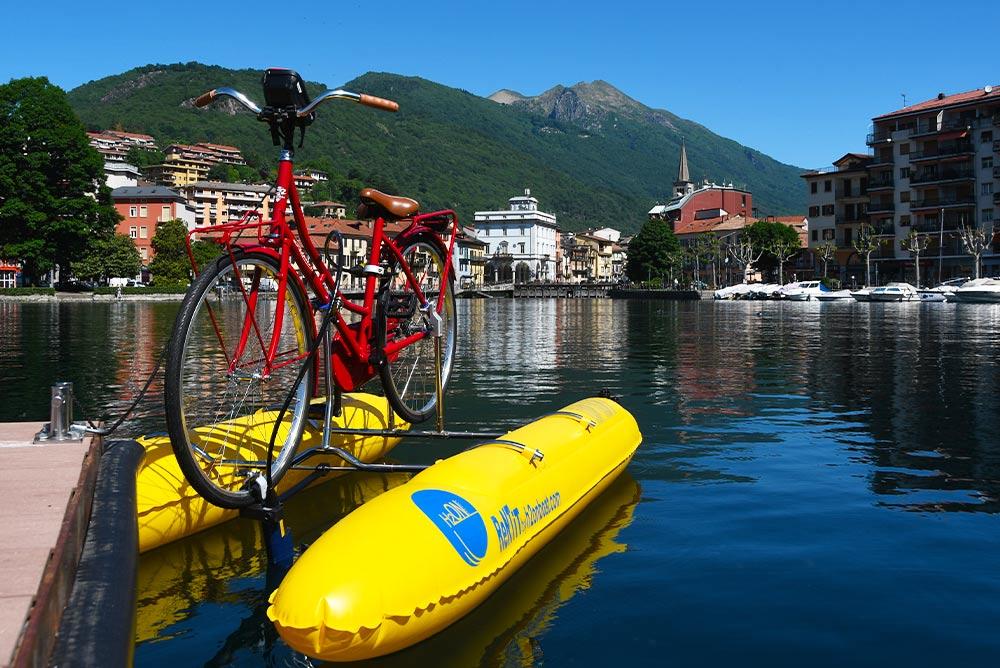 noleggio shuttle bike sul lago d'orta