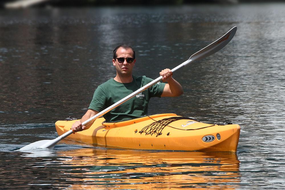 noleggio canoe sul lago d'orta